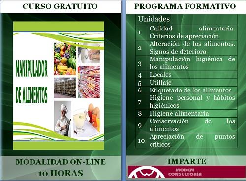 Curso gratuito manipulador de alimentos - Curso de manipuladora de alimentos gratis ...